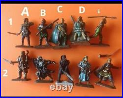 11x mithril miniature lotr the hobbit middle-earth inc M165 ghost warriors
