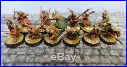 12 X Well Painted-Games Workshop LOTR Rangers of Middle-Earth