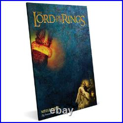 2021 Niue $2 The Lord Of The Rings Middle Earth 35g Silver