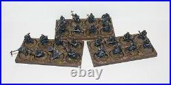 24 painted Grim Hammer dwarf Middle Earth Games Workshop miniature lotr figures