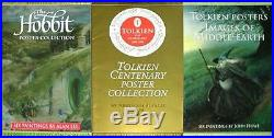 3 Rare Tolkien Art Portfolios Images On Middle Earth The Hobbit Centenary