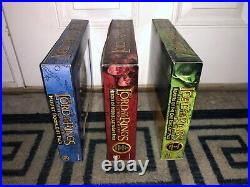 3-lord Of The Rings Figure Sets-heroes Middle-earth/mount Doom/bearers Of 1 Ring