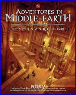 Adventures in Middle-Earth Lonely Mountain Region Guide Book LoTR RPG Cubicle 7
