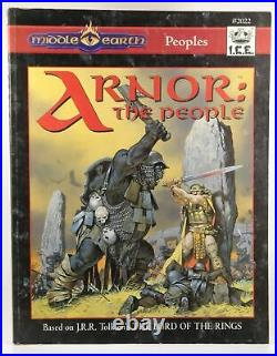Arnor the People Tolkien, J. R. R. MERP (Middle Earth Role Playing) Iron Crown