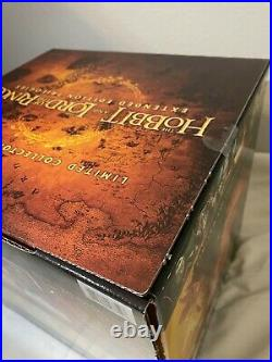 BRAND NEW LOTR Middle-Earth 6-Film Limited Collector's Edition Blu-ray & DVD
