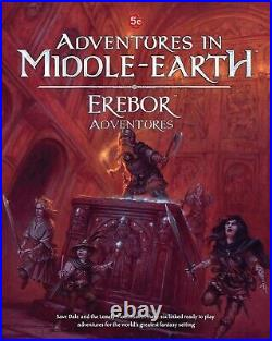 EREBOR ADVENTURES AiME in Middle-Earth 5e Book Campaign Guide LoTR RPG Cubicle 7