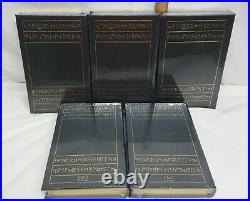 Easton Press TOLKIEN 5 VOL SEALED Lord of the Rings, Hobbit, Silmarillion 1984