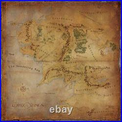 (FFG) Lord of the Rings Journeys in Middle Earth Game Mat 3x3ft playmat gamemat