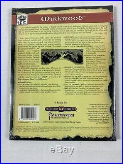 Factory Sealed Middle Earth RPG Mirkwood Realm Rolemaster MERP LOTR ICE 2019