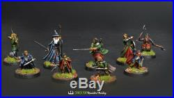 Fellowship Of The Ring Battle for middle earth COMMISSION painting
