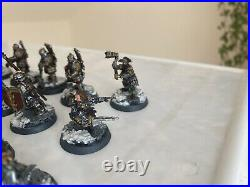 Forge World Middle Earth Iron Hills/Erebor Reclaimed Army Well Painted