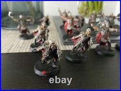 GW LOTR Middle Earth Metal Dunlending Warrior Warband Thrydan Wolfsbane Painted