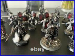 GW Lord Of The Rings Middle Earth Barad Dur Army Black Numenorean Host Painted