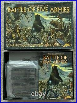 GW Middle Earth Battle Of The Five Armies Strategy Game New Boxed Complete
