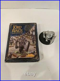 Games Workshop Lord of the Rings LOTR Middle-Earth Isengard Troll metal