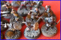 Games Workshop Middle Earth The Hobbit Dwarf Warriors x24 Well Painted Dwarves
