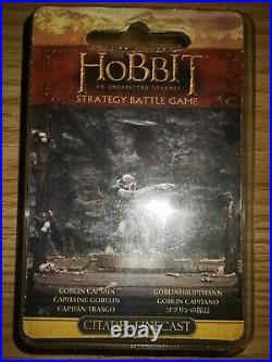 Games Workshop The Hobbit Goblin Captain Finecast Middle Earth NIB OOP