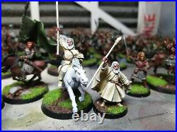Genuine GW Pro painted Rohan Middle Earth Lord Of The Rings Force With Gandalf