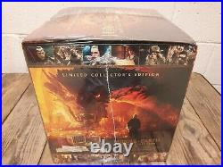 Hobbit, Lord of the Rings, Middle-earth Six Film Limited Collectors Edition NEW