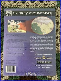ICE MERP The Grey Mountains Middle Earth RPG Campaign Module 3113