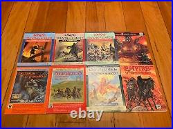 ICE Middle Earth Role Playing Game Lot of 52 Books! Lord of the Rings MERP RARE