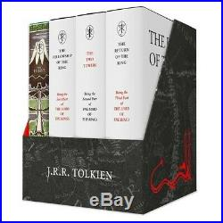 JRR Tolkien The Hobbit & The Lord of the Rings Gift Set A Middle-earth Treasury