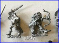 Job Lot Citadel Lord of The Rings Middle Earth ME Gollum Gandalf Metal Rare OOP