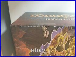 Journeys in Middle Earth board game with storage tray solution insert