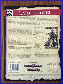 LAKE-TOWN MERP Middle Earth Role Playing Game Rolemaster Iron Crown COPIED MAP