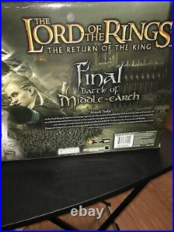 LORD OF THE RINGS FINAL BATTLE MIDDLE EARTH 6 ACTION FIGURES New Troll Gandalf