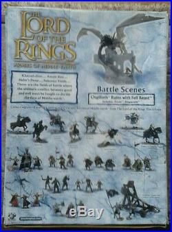 LOTR Armies of Middle Earth Battle Scene Osgiliath Ruins Fell Beast
