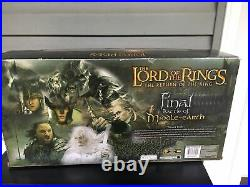 LOTR Final Battle of Middle Earth Gift Set Includes Attack Troll! 2003 OPENED