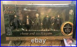 LOTR Lord of the Rings Box Set Figures Lot Coronation Heros Of Middle Earth