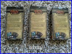 LOTR Lord of the Rings TCG Expanded Middle Earth Set of 3 Deluxe Draft Boxes