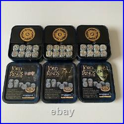 LOTR Middle Earth SBG Mines Of Moria Dice Set X 3