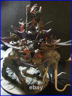 LOTR Middle-Earth Strategy game War Mumak of Harad painted with 17 crew. Mumakil
