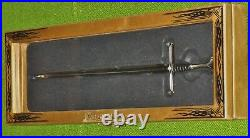 LOTR Narsil Letter Opener Middle-earth Display Case Authentic NEW