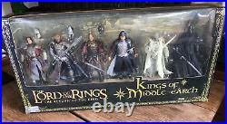 LOTR Return of the King Kings of Middle-Earth ToyBiz 2005 Boxed set unopened