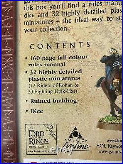LOTR THE TWO TOWERS GAME Games Workshop Lord of the Rings Middle Earth