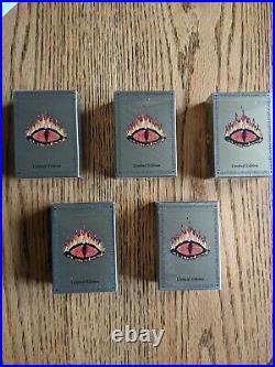 Lidless Eye Decks Set Of 5 Meccg Middle Earth new