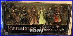 Lord Of The Rings Elves Of Middle Earth 6 Gift Pack Figure Set by Toybiz Sealed