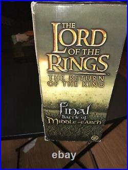 Lord Of The Rings Final Battle Of Middle Earth 6 Action Figures New Good Shape