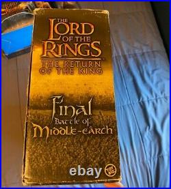 Lord Of The Rings Final Battle Of Middle Earth 6 Action Figures, Troll Included