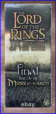 Lord Of The Rings Final Battle Of Middle Earth Gift Pack Figures Toybiz MISB