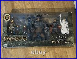 Lord Of The Rings Final Battle Of Middle Earth Gift Pack Figures Toybiz Sealed