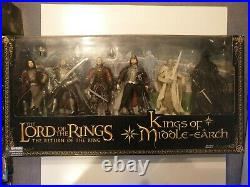 Lord Of The Rings Giftpack Kings Of Middle Earth! Von Toy Biz herr der ringe