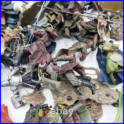 Lord Of The Rings Huge Armies Of Middle Earth Lot 50+ Figures 200+ Pieces LOTR