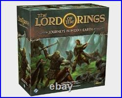 Lord Of The Rings Journeys In Middle Earth Board Game Fantasy Flight