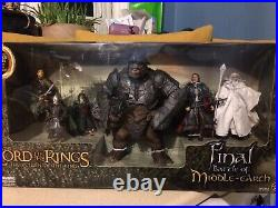 Lord Of The Rings LOTR Final Battle of Middle Earth Toy Biz figure Attack Troll