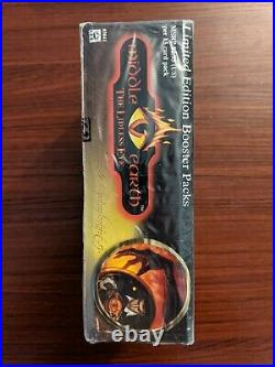 Lord Of The Rings Middle Earth CCG Booster Box The Lidless Eye Brand New Sealed